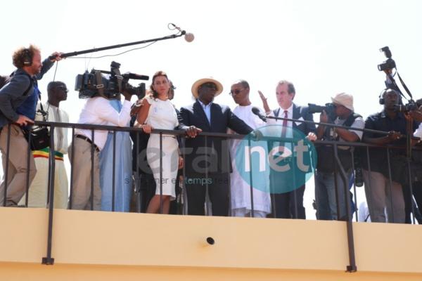 Macky Sall, lors de l'inauguration de la centrale solaire de Bokhol le 22 octobre dernier.