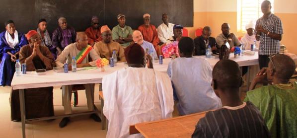 Matam -Inauguration du collège Doumga Ouro Alpha, financé par l'USAID : l'ambassadeur  des Etats-Unis au Sénégal a pris part à la cérémonie