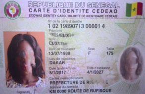 Kaolack : Démarrage des opérations de fabrication de la carte d'identité CEDEAO