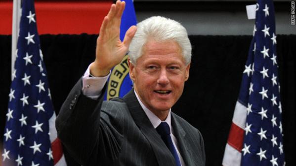 Bill clinton, président des Etats Unis de 1992 à 2000