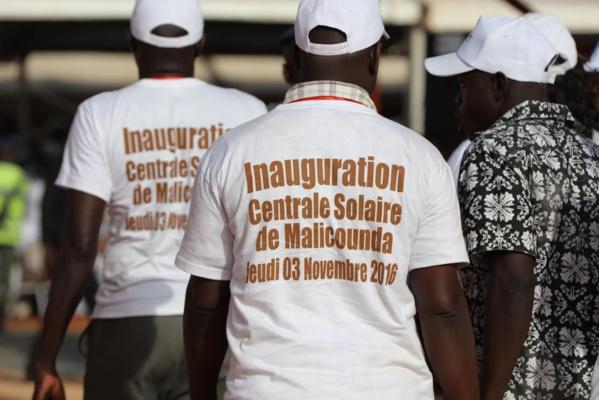 Photos : Inauguration centrale Malicounda en images