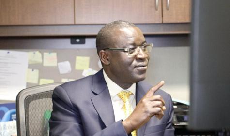 Colonel Barthélémy Diouf, conseiller militaire à la Mission Permanente du Sénégal aux Nations-Unis.