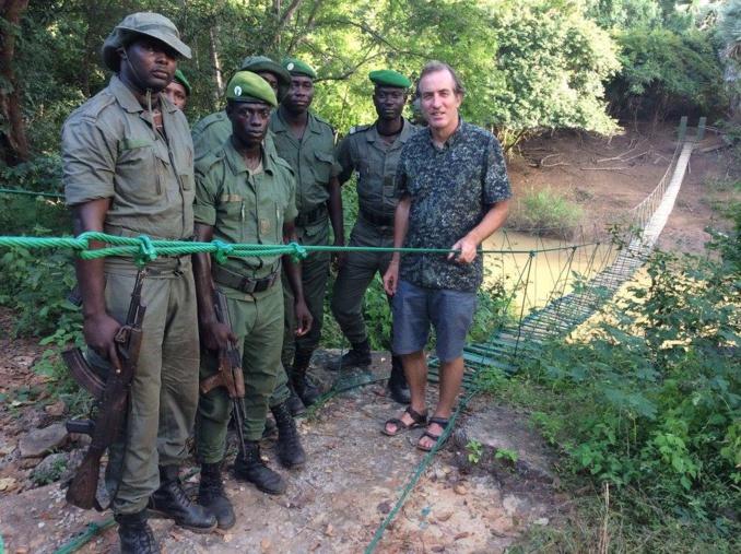 l'Ambassadeur accueilli par la brigade