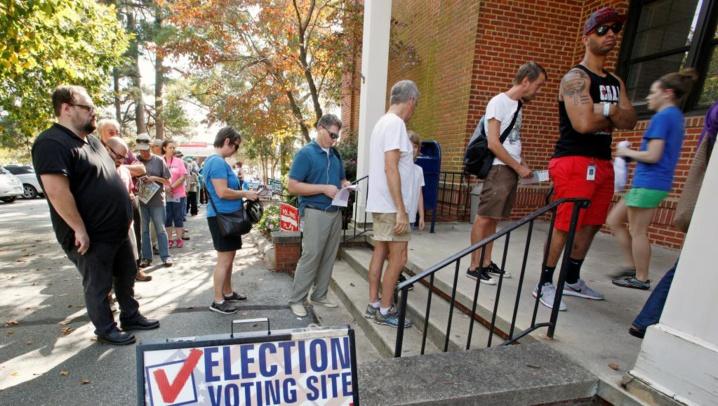 80% des Américains anticipent leur vote