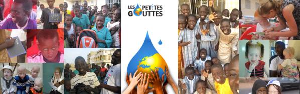 Je vote pour l'association « Les Petites Gouttes » en faveur des enfants des rues et des albinos