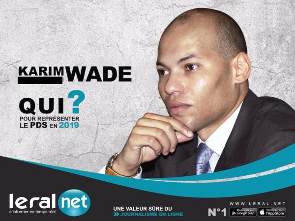Me Amadou Sall, «Karim Wade a été exilé», mais qu'il va revenir bientôt pour être le candidat du PDS à la présidentielle de 2019.