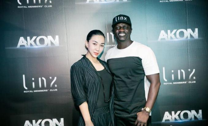 Akon  à Shanghai, Chine