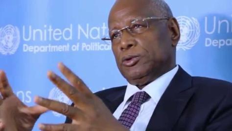 Le Pr Abdoulaye Bathily candidat à la Présidence de l'Union africaine avec le parrainage du chef de l'Etat sénégalais Macky Sall.