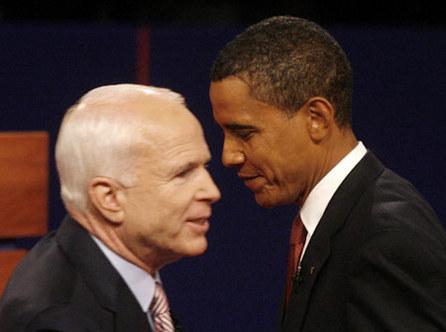 Les sondages montrent Obama vainqueur du premier débat contre McCain
