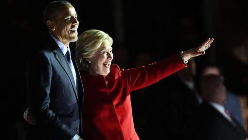 """Barack Obama : """"Je parie que vous allez rejeter la peur et choisir l'espoir"""""""