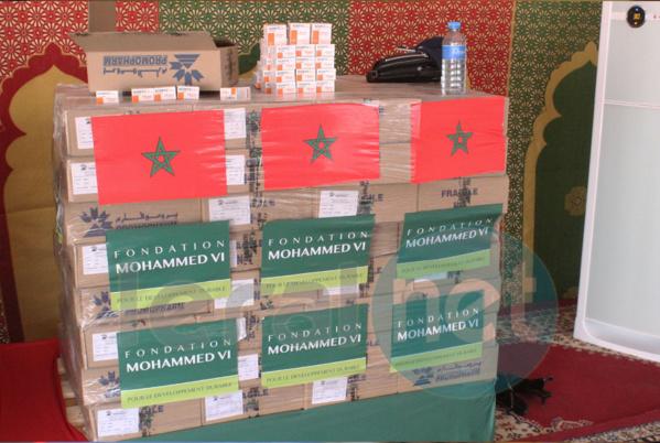 don de médicaments au Conseil national sénégalais de lutte contre le SIDA