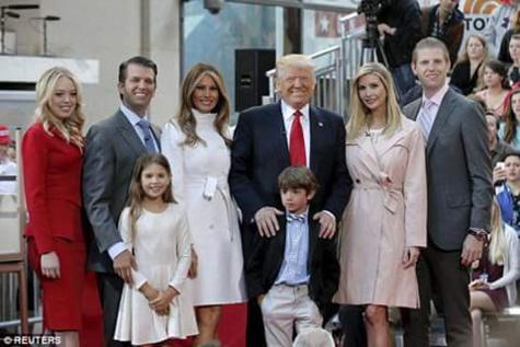 Voici la famille du nouveau président des USA, Donald Trump !!