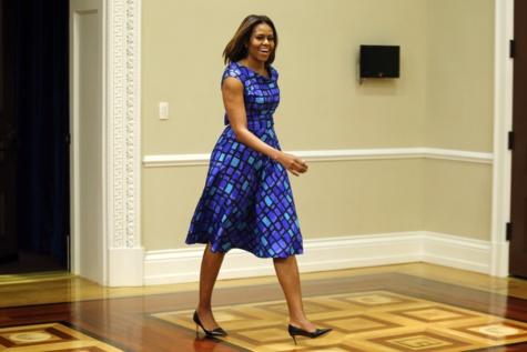 Michelle Obama l'ancienne First Lady des USA en quelques clichés !!!