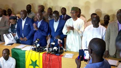 La conférence des leaders de Manko Wattu Senegaal.