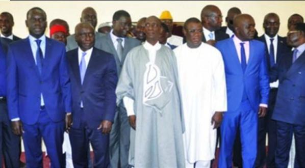 Les leaders de la coalition Manko Wattu Sénégal