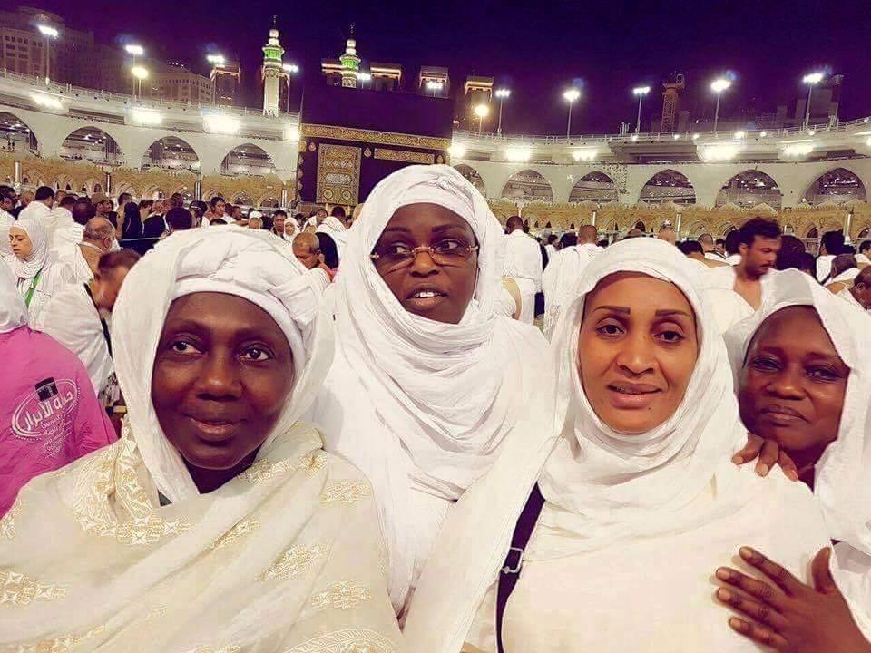 Mariéme Faye Sall première dame à la Mecque