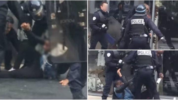 Paris : prison avec sursis requise contre un policier pour avoir frappé un lycéen