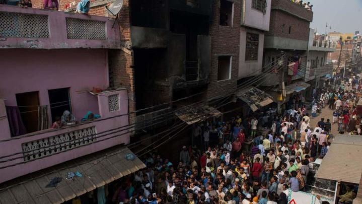 13 morts dans un incendie dans un atelier textile en Inde