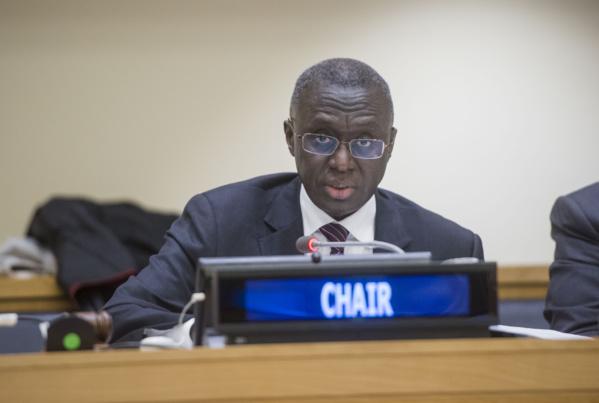 """Maintien de la paix : Fode Seck évoque les """"défis peristants"""" à relever par les forces onusiennes"""