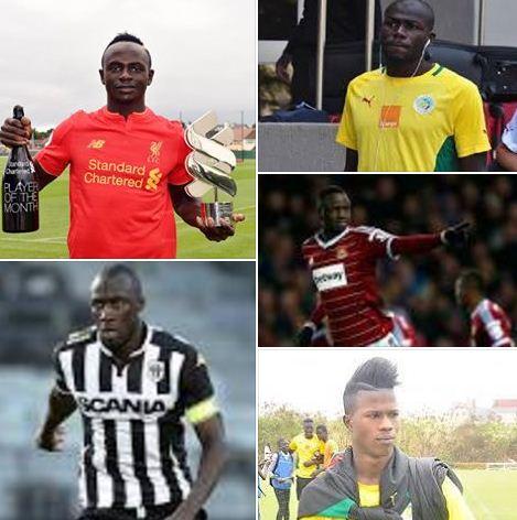 Ballon d'Or sénégalais 2016 : Sadio Mané, Kalidou Koulibaly, Cheikhou Kouyaté, Diao Keïta Baldé, Cheikh Ndoye en compétition