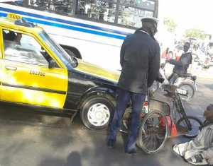 Touba :  Ivre mort, un quinquagénaire fonce avec son véhicule sur un policier