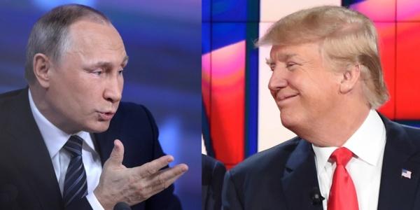 Donald Trump et Vladimir Poutine favorables à une «normalisation» des relations entre leurs pays