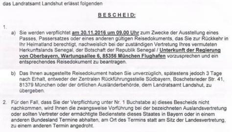 Exclusivité:3000 sénégalais menacés d'expulsion en Allemagne