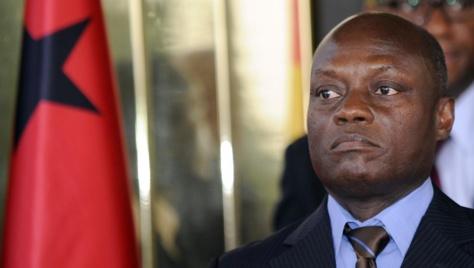 Le président de Guinée-Bissau, José Mario Vaz, le 11 juin 2014. © AFP PHOTO / SIA KAMBOU