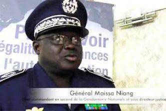 Haut commandant de la Gendarmerie nationale : Le Général Meissa Niang entend défendre les principes de la République