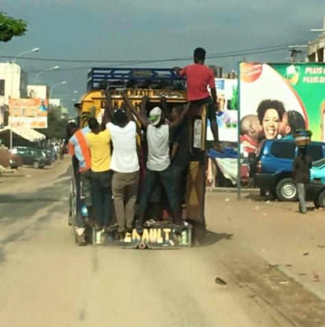 Ces images qui illustrent le mauvais comportement des conducteurs et usagers de la route au Sénégal