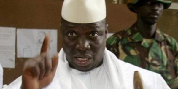 En meeting à Farafégné, Yaya Jammeh humilie l'imam qui devait prier pour lui