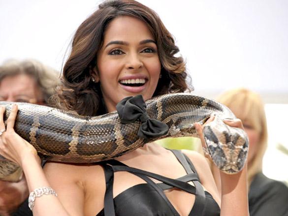50 Photos : La belle actrice Bollywood, Mallika Sherawat qui vient d'être agréssée à Paris