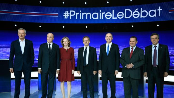 Les 7 candidats de la droite aux primaires à la candidature de la présidentielle 2017 en France