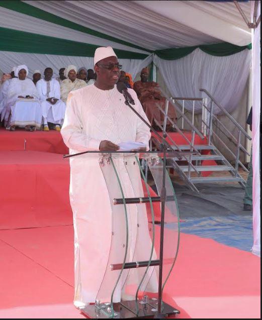 Hôpital moderne de niveau 3 de Touba : Macky Sall a fait la pose de la première pierre