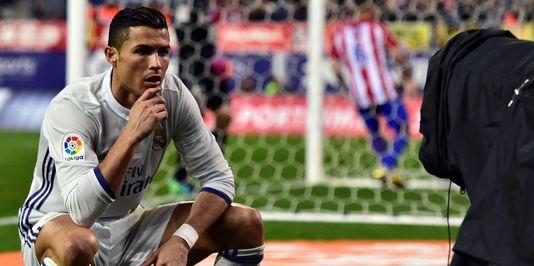 Cristiano Ronaldo samedi 19 novembre à Madrid. GERARD JULIEN / AFP