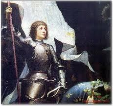 La résistante Jeanne d'Arc