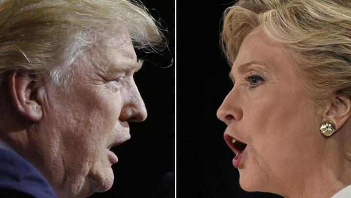 Donald Trup Hilary Clinton