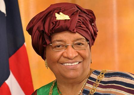 Ellen Johnson-Sirleaf, première présidente africaine