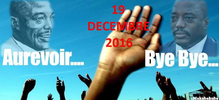 RDC: des mouvements de jeunes lancent la campagne « Bye bye Kabila »
