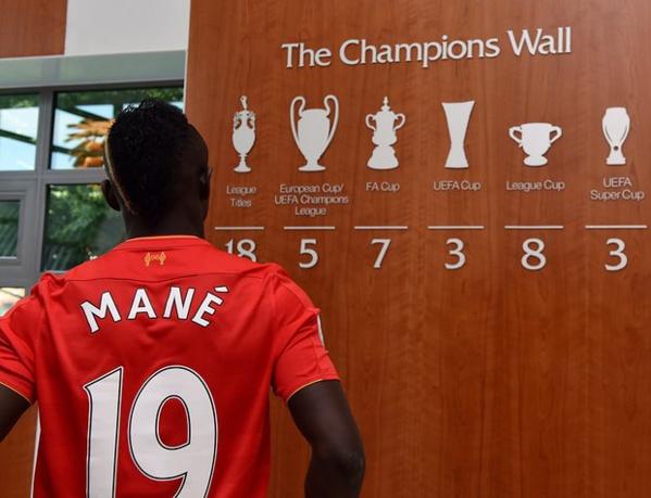 Pour la deuxième fois, Sadio Mané, 24 ans, a été élu le meilleur sportif sénégalais de l'année.