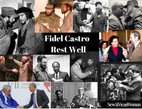 Fidel Casto, un ami de l'Afrique, vous étiez!!