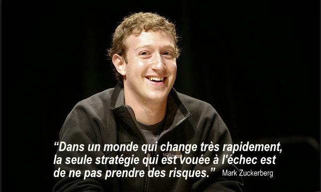 10 citations de Mark Zuckerberg pour vous motiver