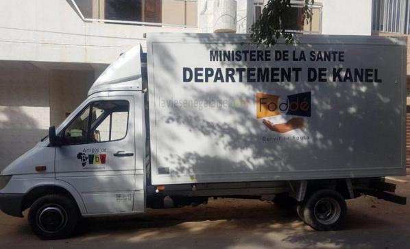 Une ambulance pour le département de Kanel au nom de Macky Sall : Mamadou Oumar Bocoum tient sa promesse