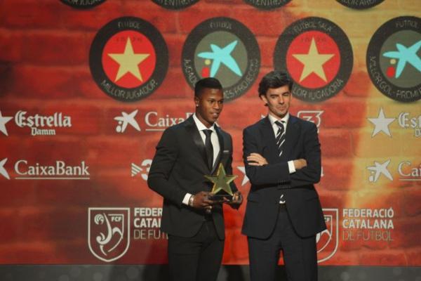Keita Baldé Diao récompensé en Catalogne (FC Barcelone)