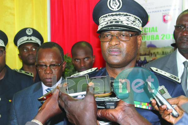 Oumar Mall, le Directeur général de la police en marge de sa visite à la 25ème FIDAK