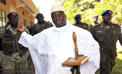 Election présidentielle en Gambie : Jammeh coupe le pays du reste du monde