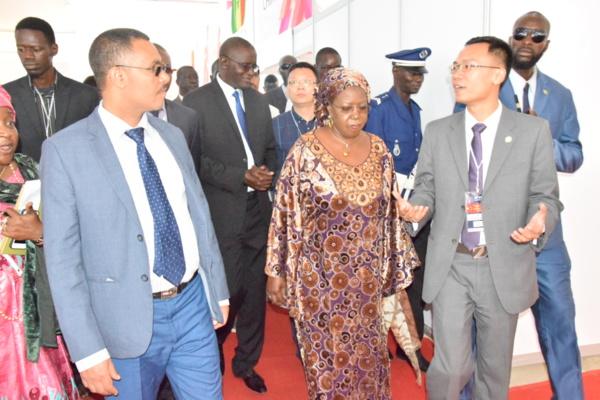 représentant Ethiopie, Khoudia Mbaye et représentant Chine