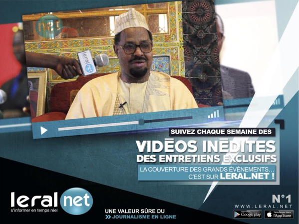 Vidéo : Leral.net, un mois de novembre d'exclusivité et des live in direct pour ses internautes, le meilleur reste à venir...
