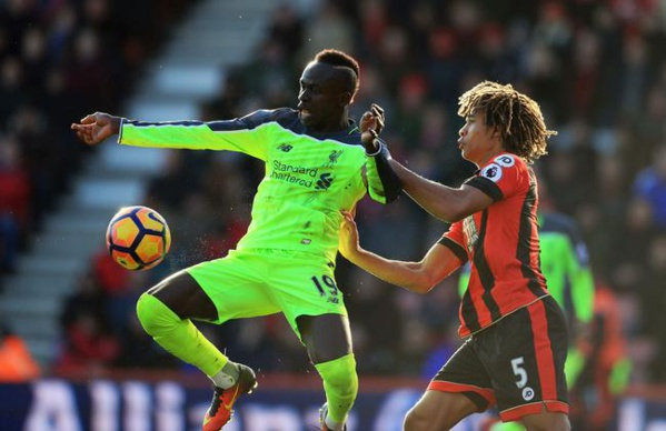 Liverpool de Sadio Mané chute à Bournemouth (3-4)