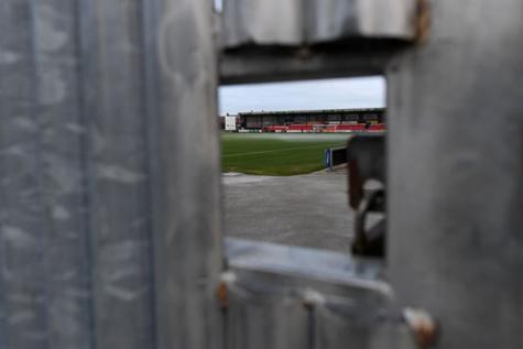 Le stade Alexandra Stadium à Crewe, club où Barry Bennell a longtemps exercé.